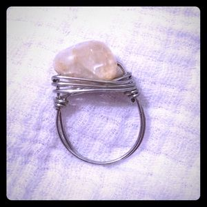 Host Pick! Handmade Wire Wrapped Gemstone Ring